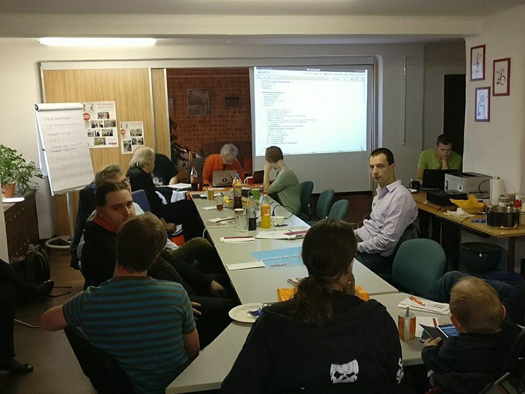 Christian Horn beim Landesparteitag in Erfurt am 04.11.2017