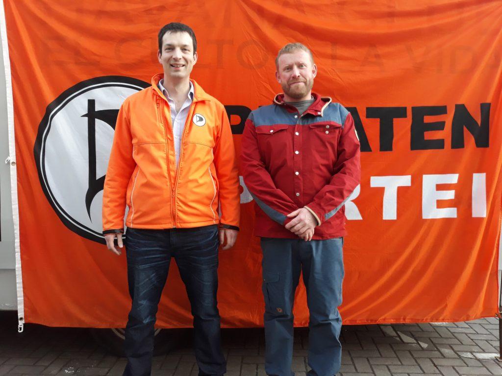 Christian Horn und Tino Weinberger wollen auch für den Stadtrat in Meiningen kandidieren