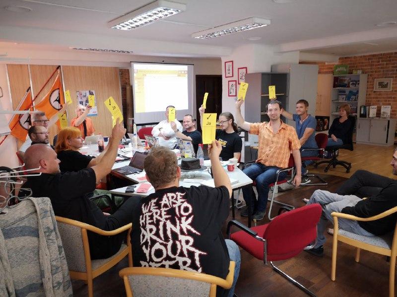 Piraten beschließen einstimmig ihr Wahlprogramm zur Landtagswahl