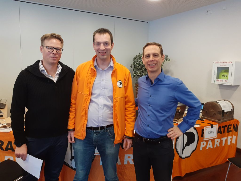 Christian Horn auf dem Bundesparteitag 2019